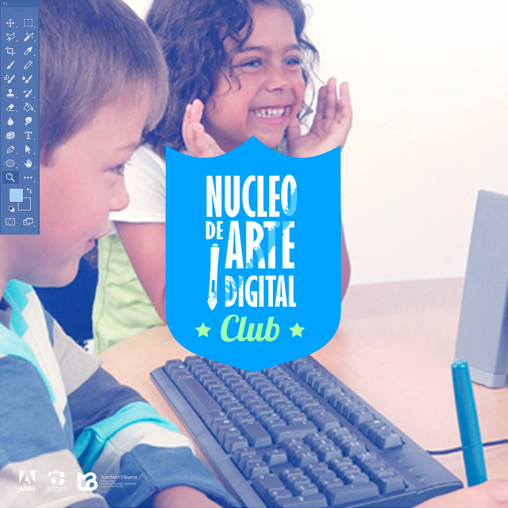 Club de Arte digital para niños
