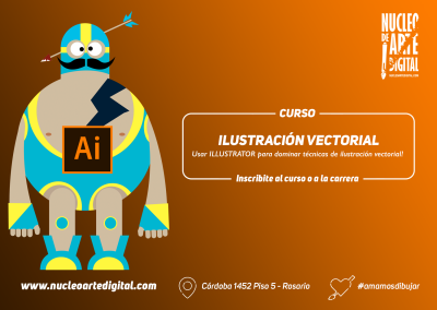 Curso Illustrator para Ilustración Vectorial